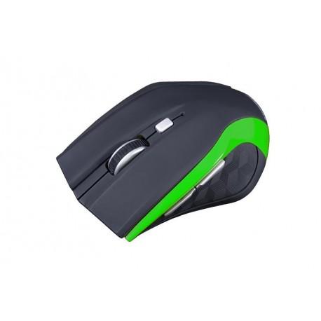 Mysz bezprzewodowa Modecom MC-WM5 optyczna czarno-zielona