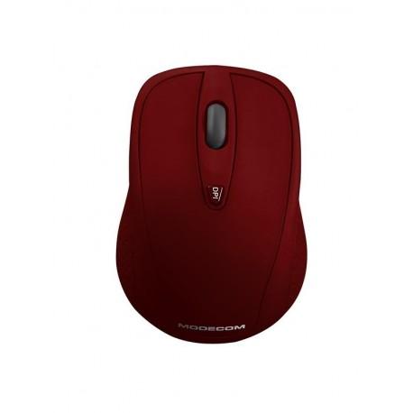 Mysz bezprzewodowa Modecom MC-WM4 optyczna czerwona