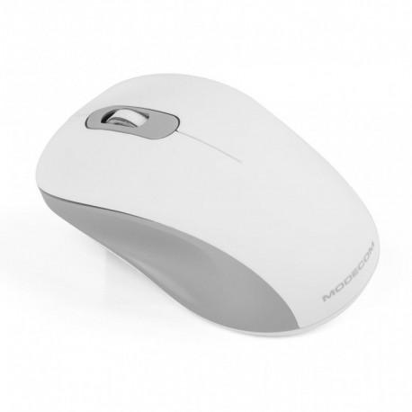 Mysz bezprzewodowa Modecom MC-WM10S SILENT optyczna biała