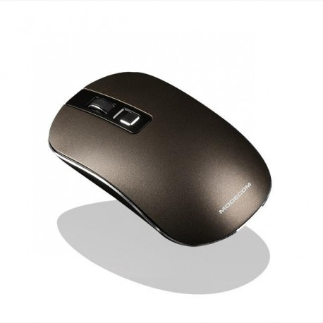 Mysz bezprzewodowa Modecom MC-WM101 optyczna brązowa