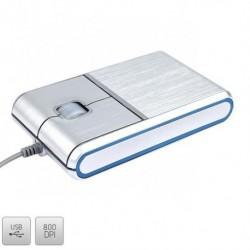 Mysz przewodowa Modecom MC-901 optyczna srebrna
