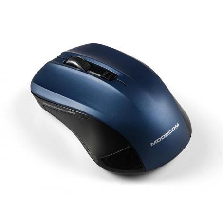 Mysz bezprzewodowa Modecom WM9.1 optyczna czarno-niebieska
