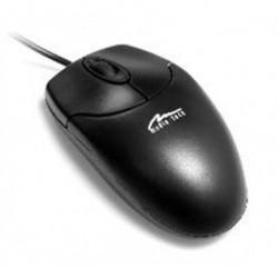 Mysz przewodowa Media-Tech OPTICAL MOUSE MT1075KU optyczna czarna