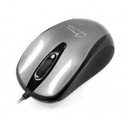 Mysz przewodowa Media-Tech PLANO MT1091S optyczna czarno-srebrna