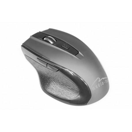 Mysz bezprzewodowa Media-Tech OFFICE ERGO optyczna szara