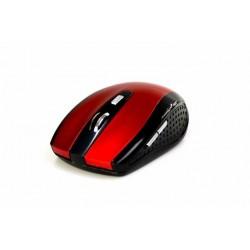 Mysz bezprzewodowa Media-Tech RATON PRO MT1113R optyczna czarno-czerwona