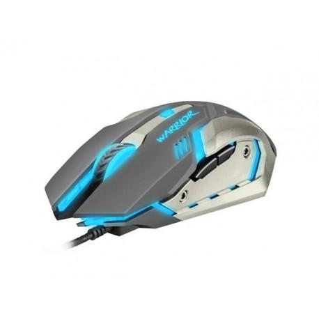 Mysz przewodowa Fury Warrior optyczna Gaming 3200 DPI czarno-biała