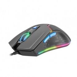 Mysz przewodowa Fury Hunter optyczna Gaming 4800 DPI czarna