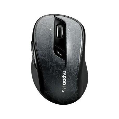 Mysz bezprzewodowa RAPOO 7100P optyczna 5G szara