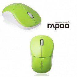 Mysz bezprzewodowa RAPOO 5G 1090P optyczna zielona