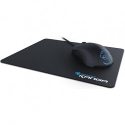 Mysz przewodowa Roccat LUA optyczna czarna + podkładka pod mysz Kanga