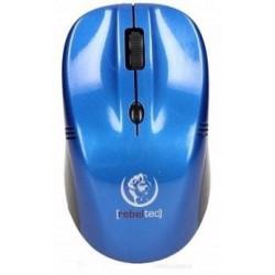Mysz bezprzewodowa Rebeltec THETA optyczna 1000/1600DPI 3 przyciski niebieska