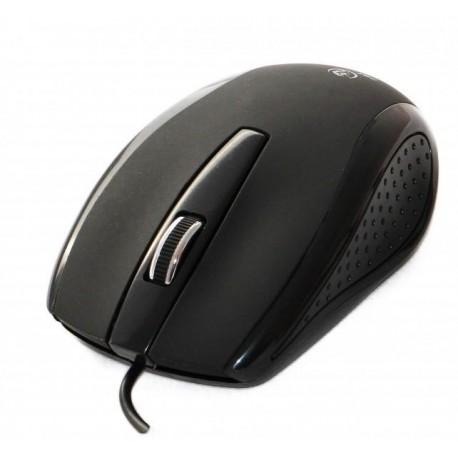 Mysz przewodowa Rebeltec GAMMA optyczna 800DPI 3 przyciski USB czarna