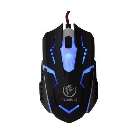Mysz przewodowa Rebeltec COBRA optyczna Gaming USB czarna