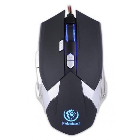 Mysz przewodowa Rebeltec DESTROYER optyczna Gaming USB czarna