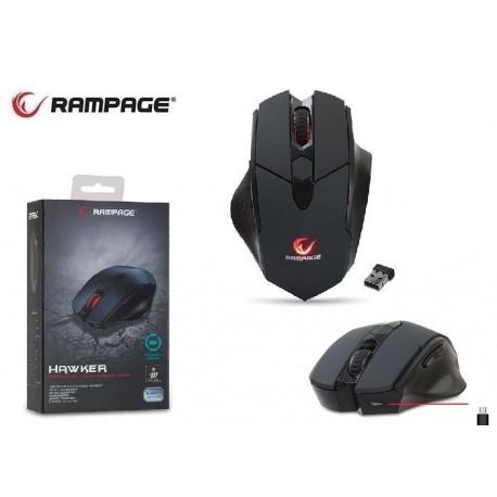 Mysz bezprzewodowa Rampage SMX-R12 Hawker optyczna 4800dpi PAW3212 Makro dla graczy