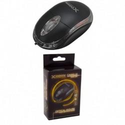 Mysz przewodowa Extreme 3D CAMILLE XM102K optyczna  czarno-przezroczysta