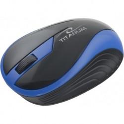 Mysz bezprzewodowa TITANUM TM113B BUTTERFLY optyczna niebieska