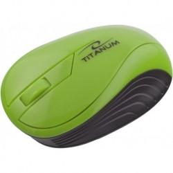 Mysz bezprzewodowa TITANUM TM115G optyczna zielona