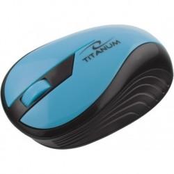 Mysz bezprzewodowa TITANUM RAINBOW TM114T optyczna turkusowa