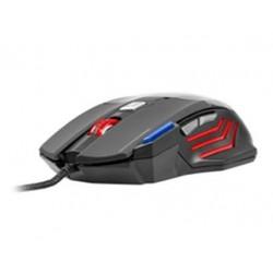 Mysz przewodowa TRACER Battle Heroes Tomahawk optyczna Avago5050 szara