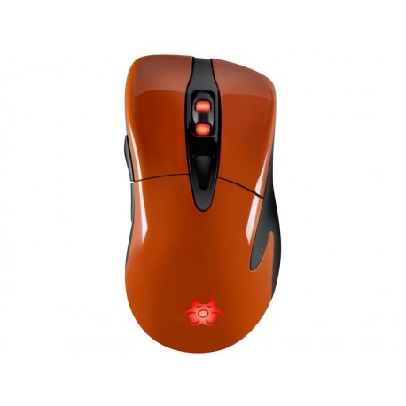 Mysz przewodowa TRACER GAMEZONE Enduro AVAGO 5050 Gaming 2700DPI pomarańczowa