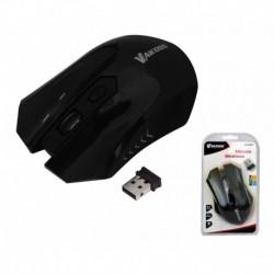 Mysz bezprzewodowa VAKOSS TM-658UK optyczna 4 przyciski 1600dpi czarna