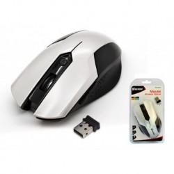 Mysz bezprzewodowa VAKOSS TM-651US optyczna 4 przyciski 1600dpi srebrna