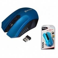 Mysz bezprzewodowa VAKOSS TM-658UB optyczna 4 przyciski 1600dpi niebieska