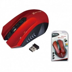 Mysz bezprzewodowa VAKOSS TM-658UR optyczna 4 przyciski 1600dpi czerwona