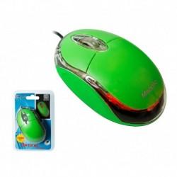 Mysz przewodowa MSONIC MX264E optyczna 3 przyciski 1200dpi zielona