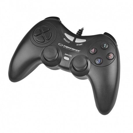 "Gamepad PC USB Esperanza ""Fighter"" czarny"