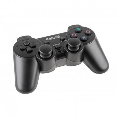 Bezprzewodowy Pad Dual Shock QUER KOM0586A Gamer PS3 / PC