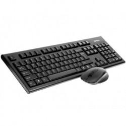 Zestaw bezprzewodowy klawiatura + mysz A4Tech V-TRACK 2.4G 7100N czarny