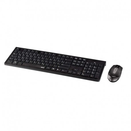 Zestaw bezprzewodowy klawiatura + mysz Hama RF 2300 czarny
