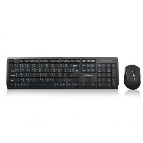 Zestaw bezprzewodowy klawiatura + mysz Modecom MC-7200 czarny