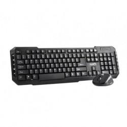 Zestaw bezprzewodowy klawiatura + mysz Natec PIGO 2,4 GHz czarny