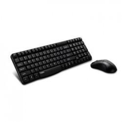 Zestaw bezprzewodowy klawiatura + mysz Rapoo X1800 czarny