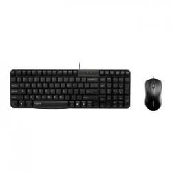 Zestaw przewodowy klawiatura + mysz Rapoo N1850 czarny