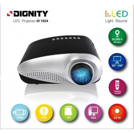 Projektor multimedialny DIGNITY LED Di1024