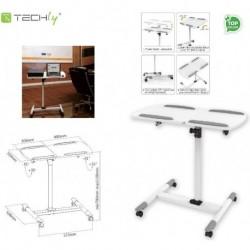 Stolik do projektora Techly mobilny biały ICA-TB TPM-5