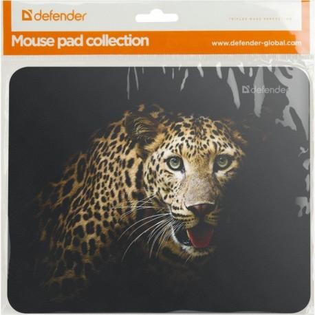 Podkładka DEFENDER 220x180x2mm, 8 wzorów, dzikie zwierzęta
