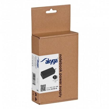 Zasilacz do notebooka Akyga AK-ND-46 18.5V/6.5A 120W 7.4x5.0 mm + pin