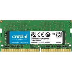 Pamięć DDR4 Crucial SODIMM 8GB 2400MHz CL17 1.2V