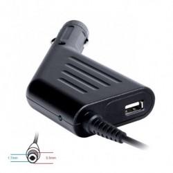 Zasilacz samochodowy do notebooka 19V/3.42A 65W 5.5x1.7mm
