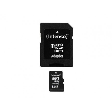 Karta pamięci microSDHC Intenso 32 GB Class 10 + adapter