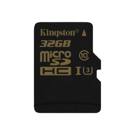Karta pamięci Kingston microSDHC 32GB Class 10 UHS-I (U3) (45W/90R MB/s) Gold Series
