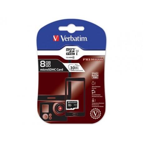 Karta pamięci microSDHC Verbatim 8 GB Class 10