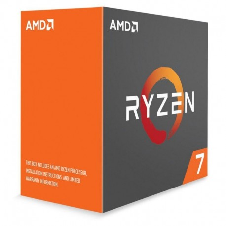 Procesor AMD Ryzen 7 1800X S-AM4 3.60/4.00GHz 4x512KB L2/16MB L3 14nm BOX/WOF