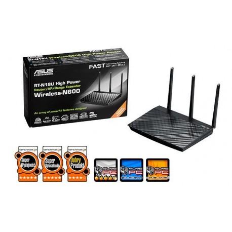 Router ASUS RT-N18U Wi-Fi N 600Mbps 2.4Ghz 2xUSB